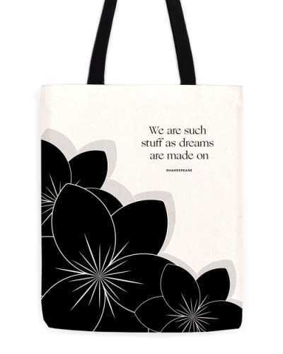 "William Shakespeare ""Dreams"" Tote"