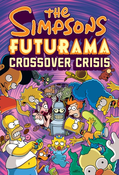 Simpsons Futurama Crossover Crisis
