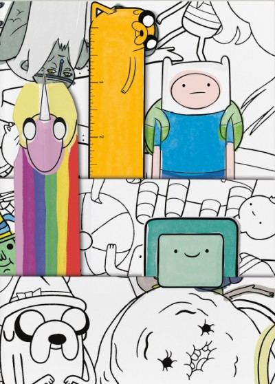 Adventure Time Two-Pocket Journal