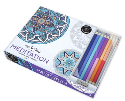 - Vive Le Color! Meditation (Adult Coloring Book And Pencils) (Paperback)  ABRAMS