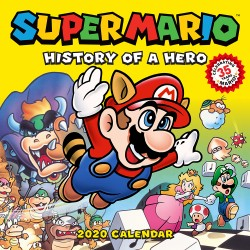 Super Mario Retro 2020 Wall Calendar History of a Hero