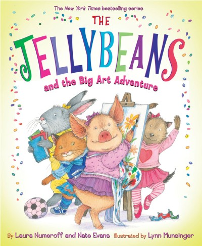 Jellybeans and the Big Art Adventure