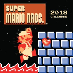 Super Mario Bros.™ 2018 Wall Calendar (retro art) Art from the Original Game