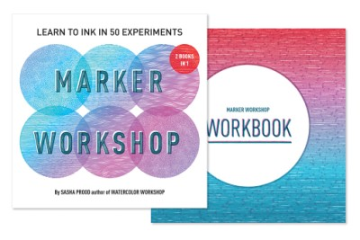 Marker Workshop (2 Books in 1) Learn to Ink in 50 Experiments