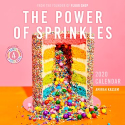 Power of Sprinkles 2020 Wall Calendar From the Founder of Flour Shop