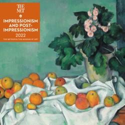 Impressionism and Post-Impressionism 2022 Wall Calendar