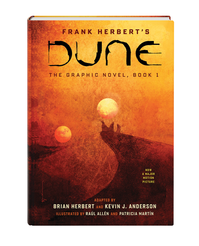 Get a sneak peek of DUNE: THE GRAPHIC NOVEL in <i>The Millions</i>!