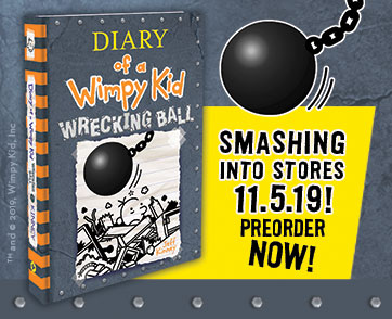 DIARY OF A WIMPY KID BOOK 14 TITLE AND COVER REVEALED