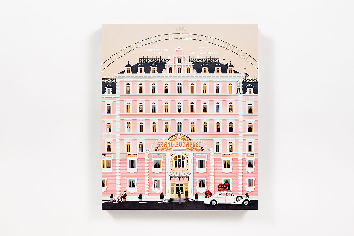 The Wes Anderson Collection The Grand Budapest Hotel Hardcover Abrams