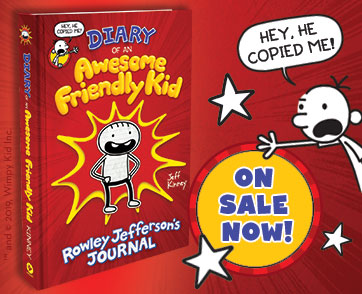 DIARY OF AN AWESOME FRIENDLY KIDIS ON SALE NOW