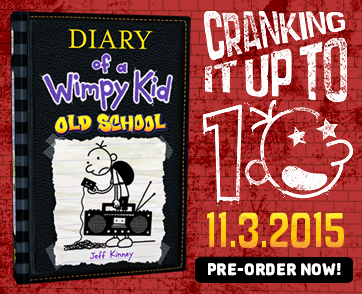 Get a Sneak Peek at <i>Diary of a Wimpy Kid: Old School</i>