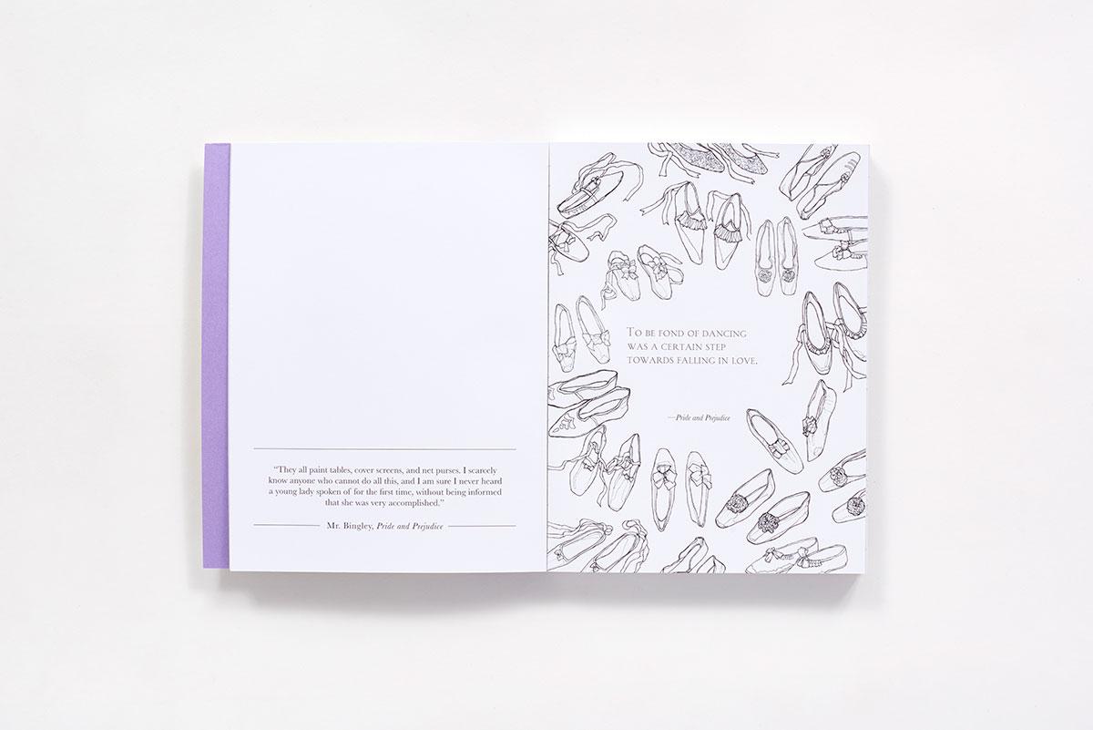 Classic Coloring: Jane Austen (Adult Coloring Book) (Paperback) | ABRAMS