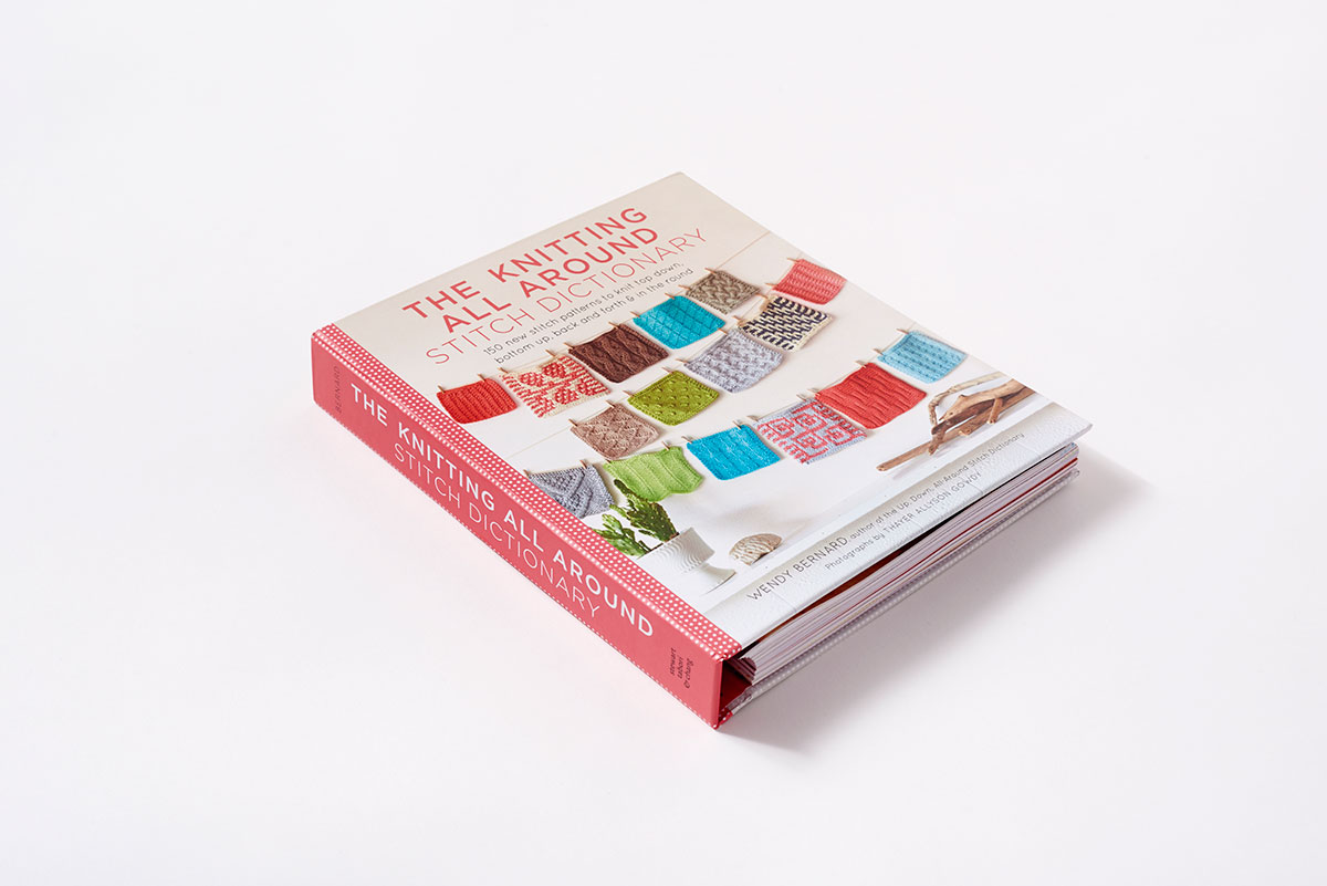 Best Knitting Stitch Dictionary : The Knitting All Around Stitch Dictionary (Hardcover) ABRAMS