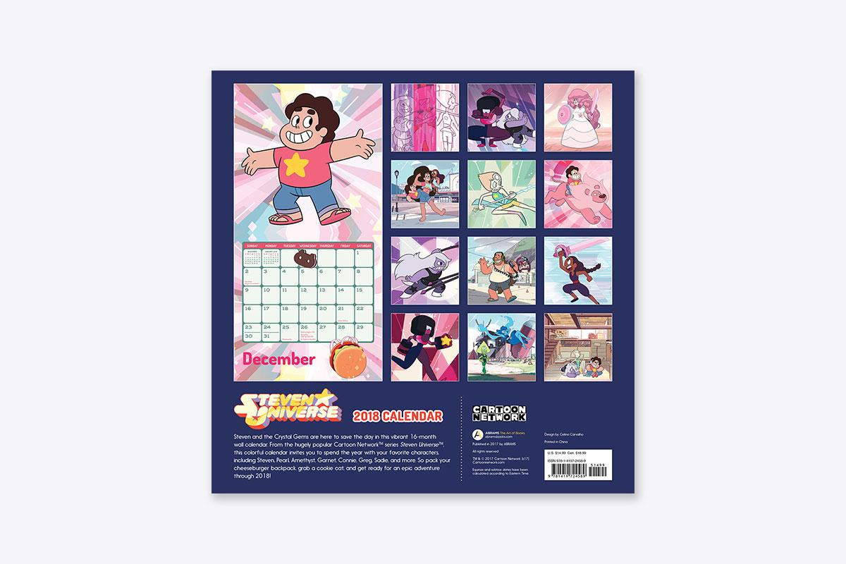 Steven Universe™ 2018 Wall Calendar (Wall)   ABRAMS