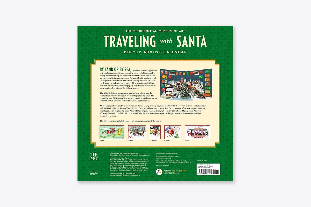 Traveling With Santa Pop Up Advent Calendar Advent Calendar Abrams