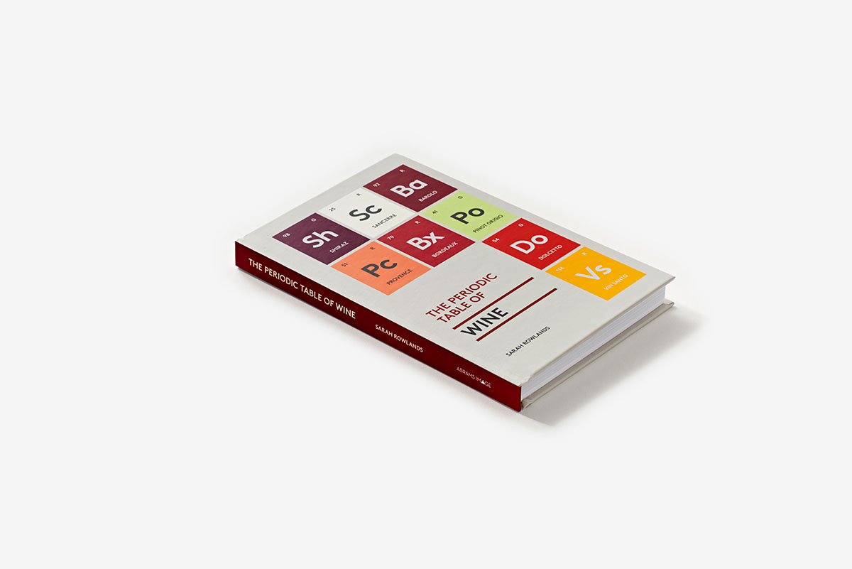 The Periodic Table Of Wine Hardcover Abrams