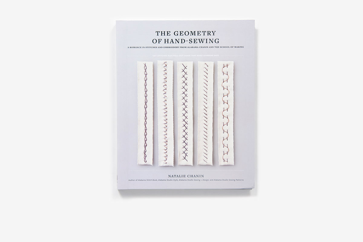 The Geometry of Hand-Sewing (Paperback) | ABRAMS