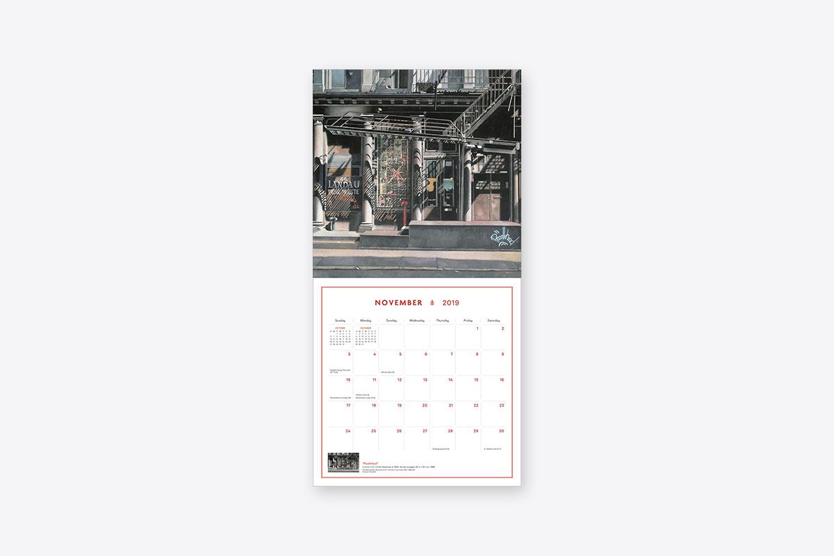 Art Calendar New York : New york in art wall calendar abrams