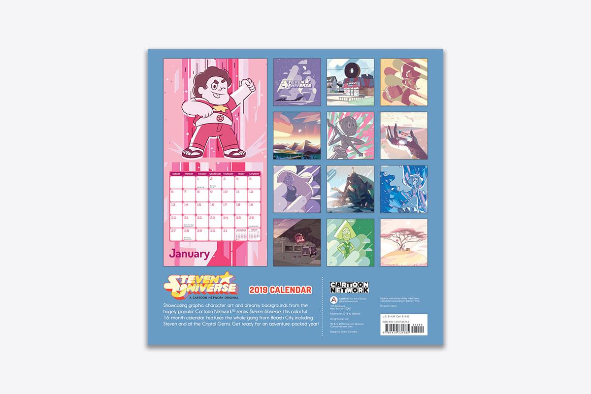 Steven Universe 2019 Wall Calendar (Wall) | ABRAMS