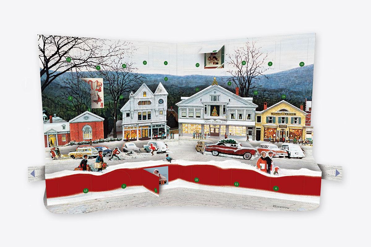 Norman Rockwell Pop-up Advent Calendar (Advent Calendar) | ABRAMS