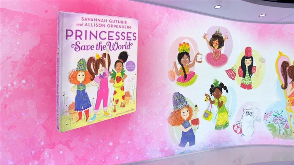 Princesses Save the World revealed on the <em>Today</em> Show!