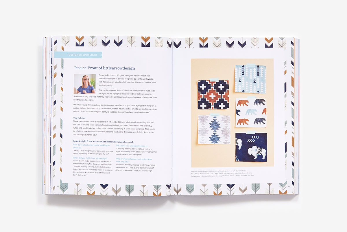 The Spoonflower Quick-sew Project Book (Ebook) | ABRAMS