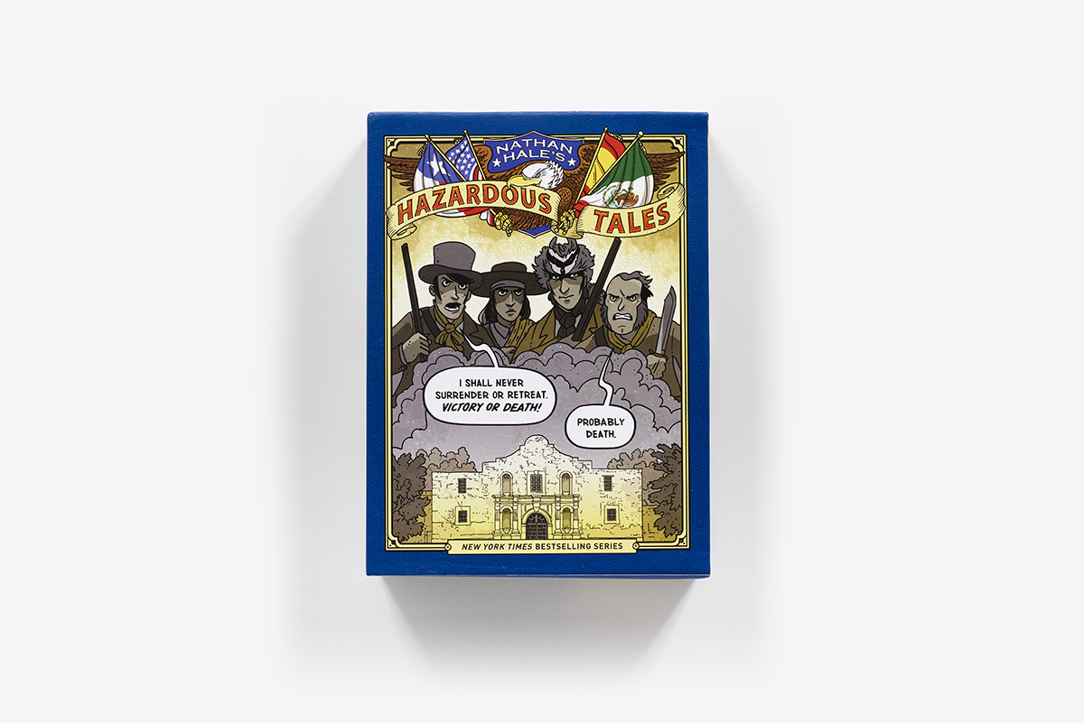 Nathan Hale's Hazardous Tales' Second 3-Book Box Set ...