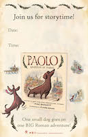 Download the <i>Paolo</i> Story Time Printable Poster!