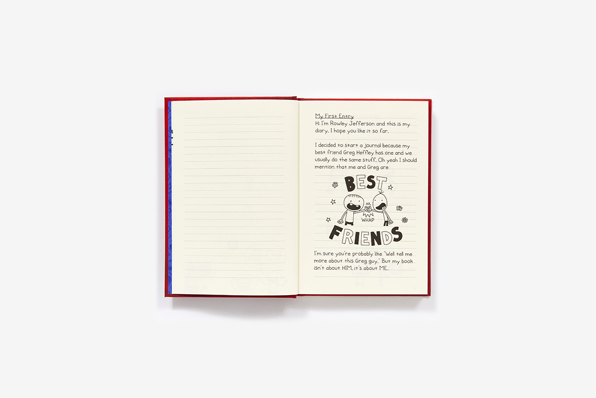 Diary Of An Awesome Friendly Kid Rowley Jefferson S Journal Hardcover Abrams