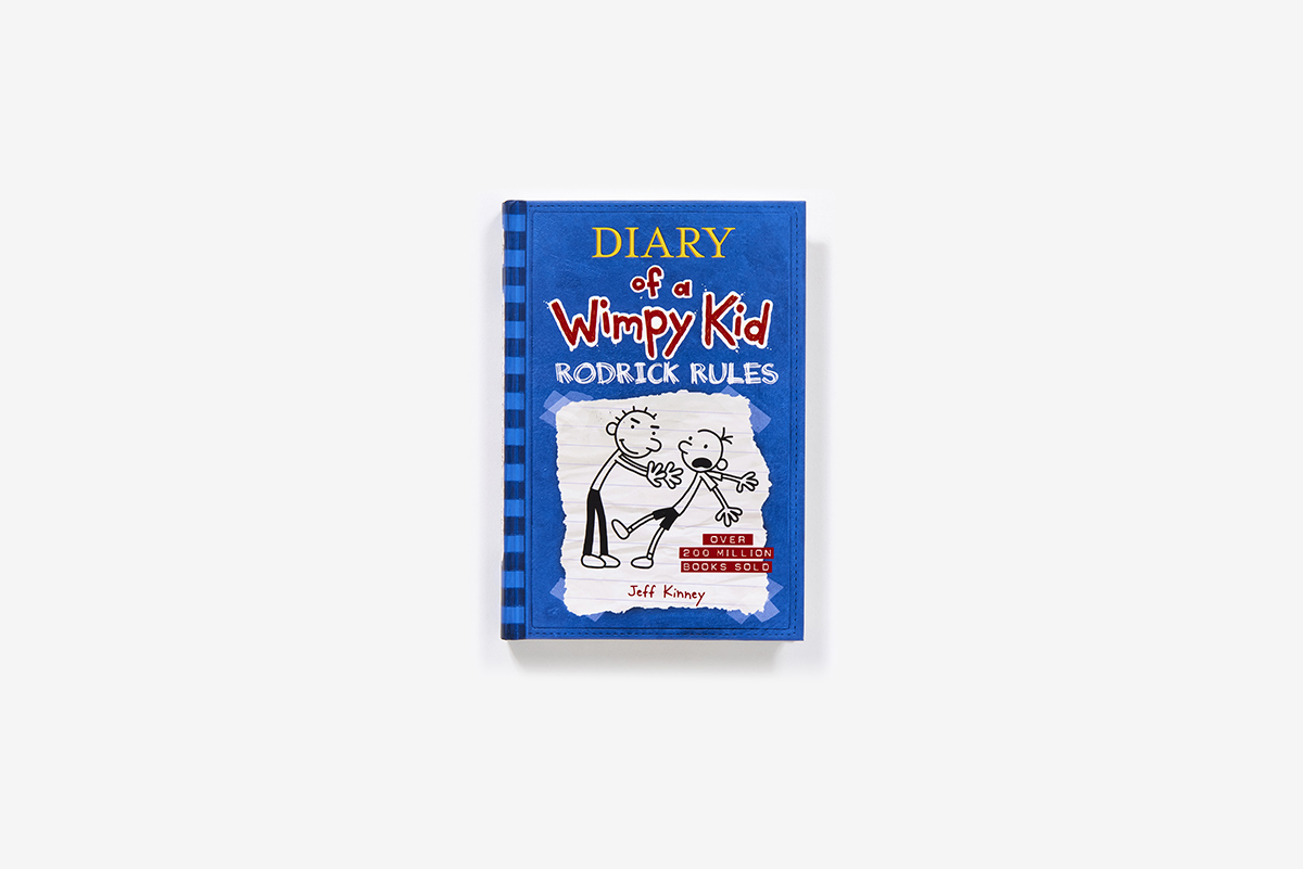 Rodrick Rules Diary Of A Wimpy Kid 2 Hardcover Abrams